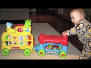Toy Review: VTech Sit-to-Stand Alphabet Train