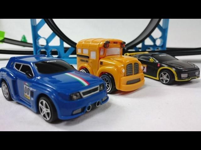 🚘Giochi da costruire per bambini con le macchine Speedy e Bussy 🚘-Nuovi episodi con giocattoli