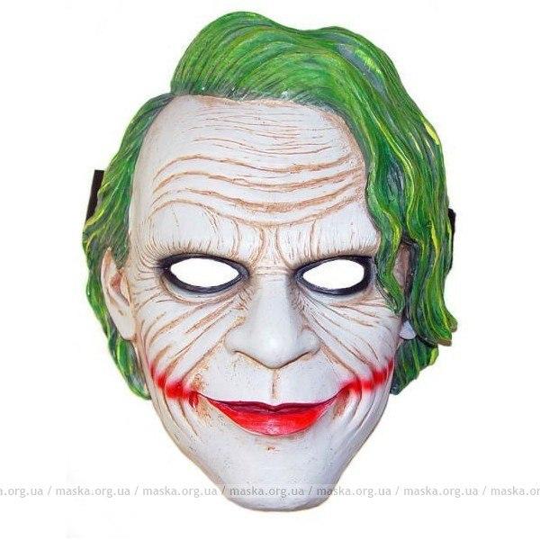 Джокер маска своими руками