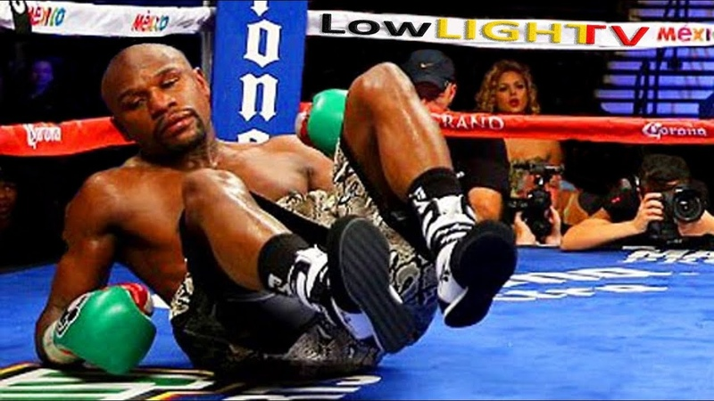 5 TIMES Floyd Mayweather GETS KNOCKED DOWN