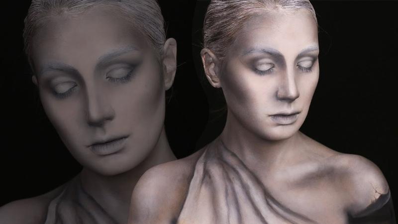 Statue Makeup Tutorial | Ilana K. Artist