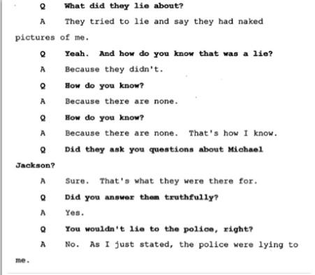 Показания Йоши Уейли, сына Джоли Левин (секретарь MJ)., изображение №15