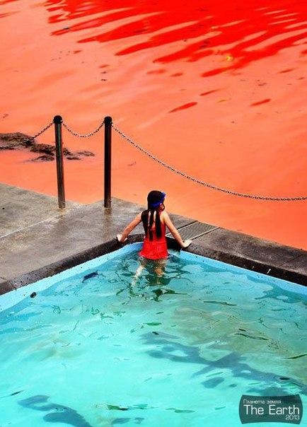 Кровавый океан в АвстралииМного пляжей