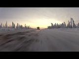 Jaguar XJ едет в самый холодный город на земле