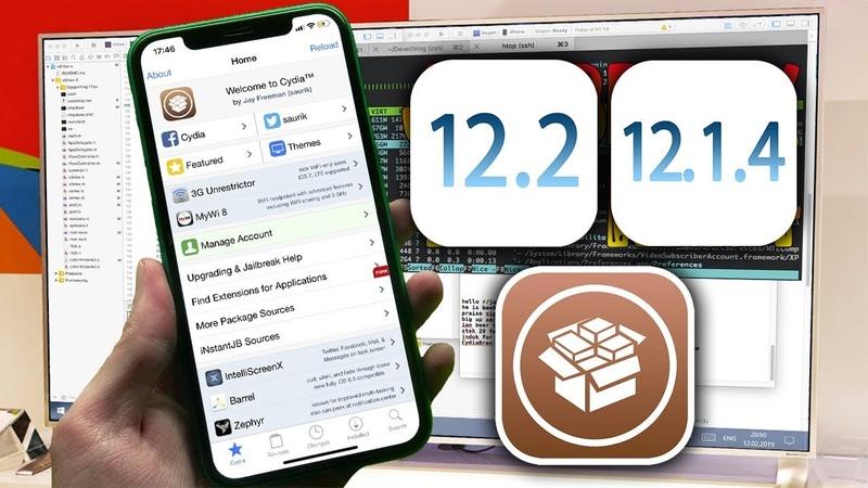 JB Tool v12.2 NEW! How to Jailbreak iOS 12.1.4 - 12.3 beta 2 WORK!