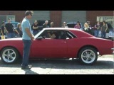 Hollywood Stuntman Sammy Maloof's 89 Year Old Mom Doing Stunts In A 640HP Chevrolet