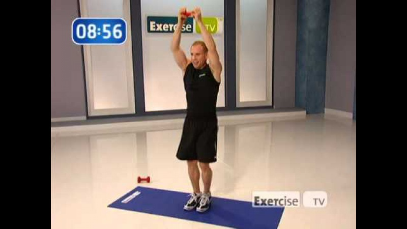 Quick Cardio Blast by Michael Carson workout (Exersice TV)
