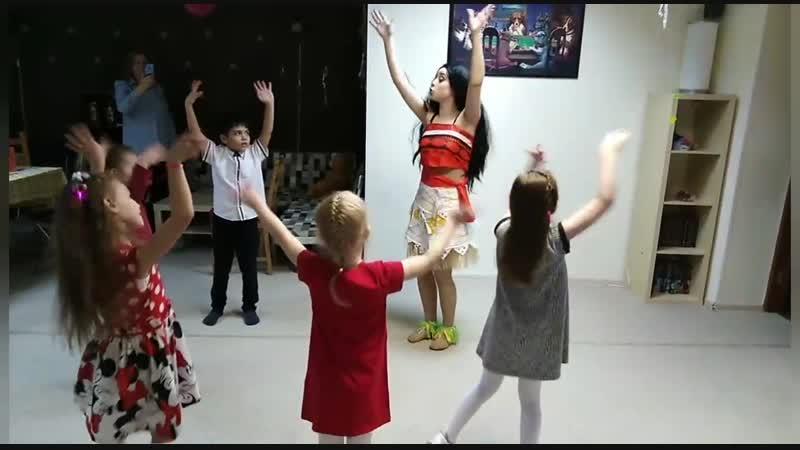 День рождения Маргариты танцы с Моаной