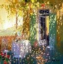 Весеннее настроение создают картины импрессиониста Лорана Парселье…