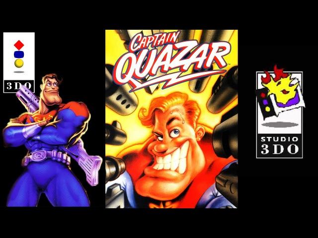 Captain Quazar / Капитан Квазар | Panasonic 3DO 32-bit | Прохождение