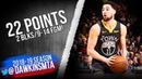Klay Thompson Full Highlights 2019.02.12 Warriors vs Jazz - 22 Pts,2 Blks, 9-14 FGM! | FreeDawkins
