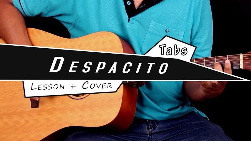 Despacito - Guitar Tabs (Lead)    Easy Lesson / Tutorial Cover