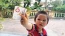 Bóc trứng đồ chơi học chữ  Học chữ qua trò chơi cho bé  Learn words through games for babies