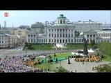 #Путин и патриарх Кирилл участвуют в Крестном ходе