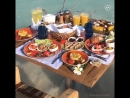 А на завтрак – море