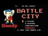 Танчики Battle City прохождение (J) Игра (Dendy, Nes, Famicom, 8 bit) 1985 Стрим RUS