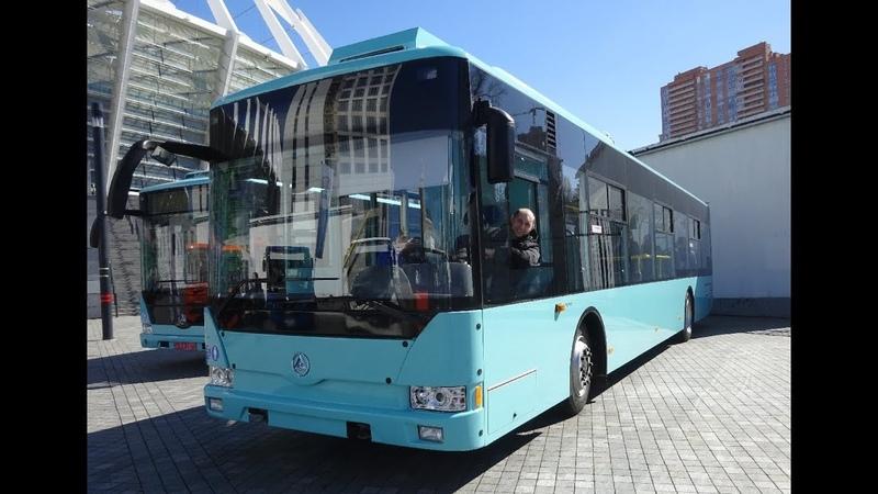 Обновленный Троллейбус Эталон Т12110 Барвинок
