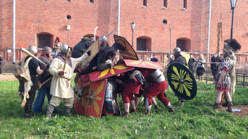 Древний Рим - Reanactors F@king Jump