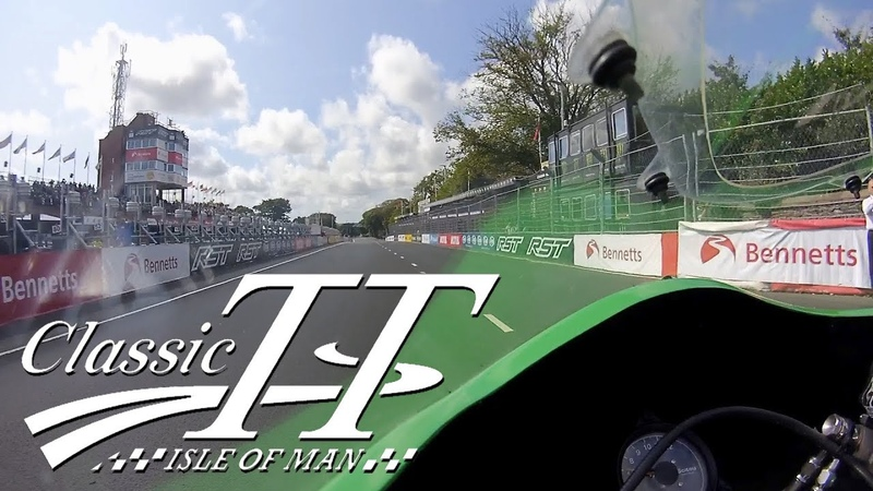 John McGuinness | Classic TT 2018 | On Board | 500cc Paton