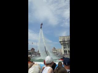 праздник Нептуна на площади Ленина Тула