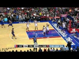 Chicago Bulls vs Philadelphia 76ers 2013.11.02 Highlights
