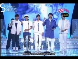 080823 SHINee wins the Hot New Star Award at the Mnet 20s choice awards