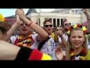 Немецкие фаны возле Красной площади
