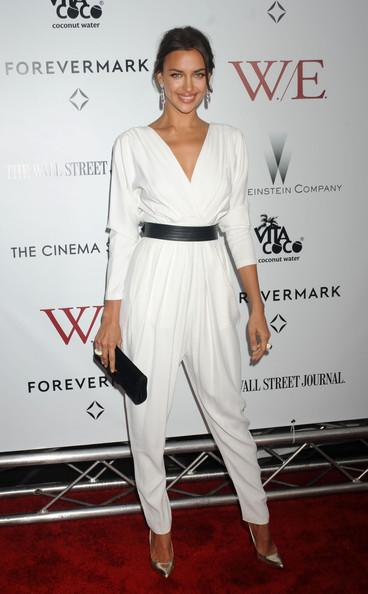 Ирина Шейк в белом