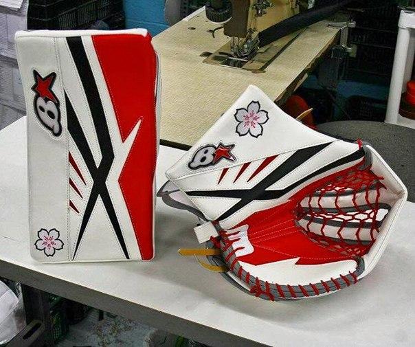 Перчатки вратаря женской сборной Японии Наны Фуджимото ?