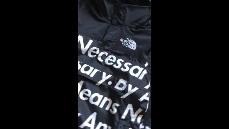 Обзор на куртку tnf