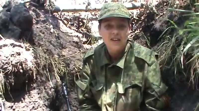 Белоруска Наталья Красовская записала видео оказавшее огромное влияние на приток добровольцев в ополчение 12 июня 2014