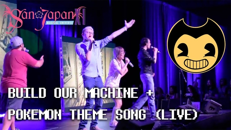 【FIRST LIVE PERFORMANCE 】BUILD OUR MACHINE POKEMON THEME SONG