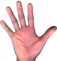 Рука левая секс