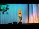 Индийский танец. Солистка эстрадной группы Лила (Leela). Mamta Sharma &amp Meet Bros Anjjan