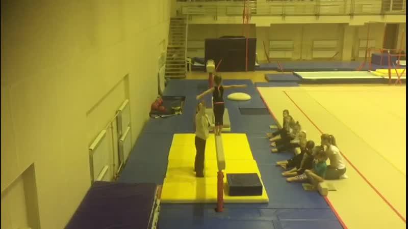 Кристина гимнастка-2 26.12.2018