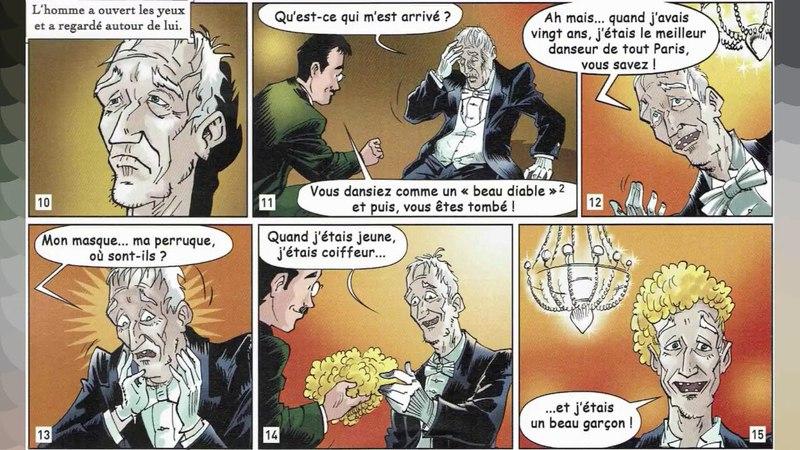 Regarde et écoute BD Français facile Niveau 3-A2/B1 - Le masque