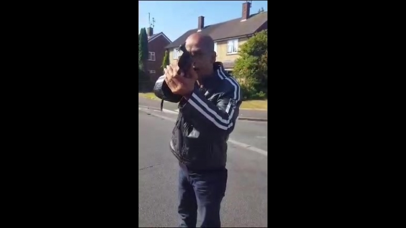 Nigger Shot Englishman In Da Eye