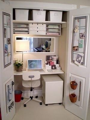 Офис в шкафу.