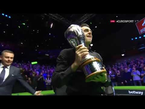 Чемпионат Великобритании 2018. Церемония награждения