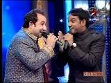 Rahat Fateh Ali Khan & Master Saleem jugalbandi-Chhote Ustaad 2010 Star Plus