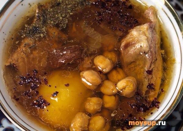 Бозбаш из баранины рецепт с фото пошагово