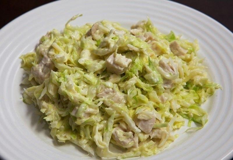 Салаты с курицей рецепты с простые и вкусные без сыра