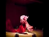 Па-де-де. Воздушная (12 вентиляторов) инсталляция бруклинского художника Дэниела Вурцела.
