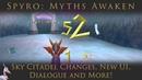 Spyro Myths Awaken Sky Citadel Changes New UI Dialogue and More