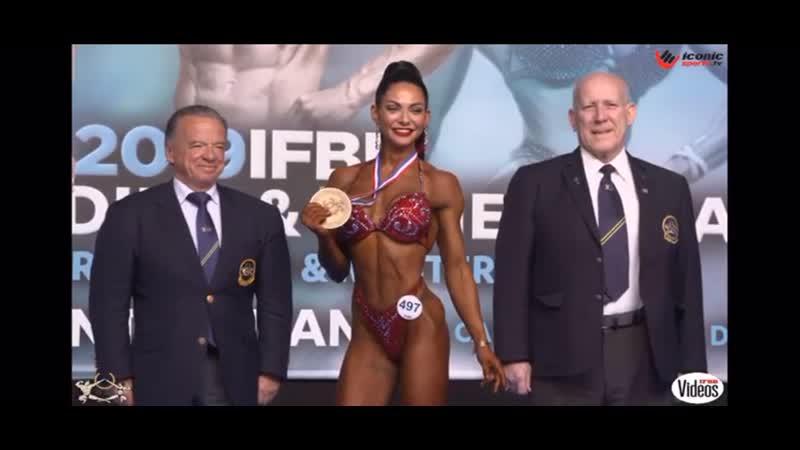 Юлия Казаковцева абсолютная чемпионка Европы по бодифитнесу 2019!