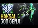 Haksal - PRO GENJI GOD - Overwatch Montage