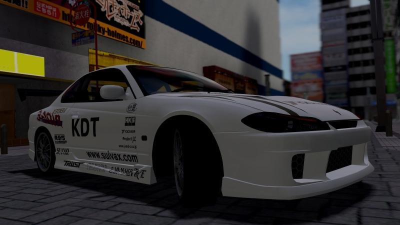 Night City Silvia S15 KDT Drift