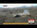 Танковая карусель под прикрытием Крокодилов и Грачей кадры масштабных учений в Бурятии