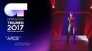 ARDE - Aitana (Segunda Actuación)   OT 2017   Gala Eurovisión