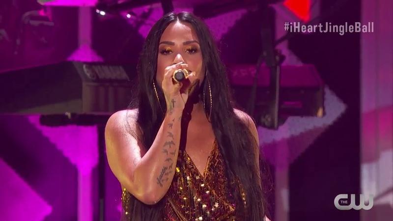 IHeartRadio's Jingle Ball No Promises Demi Lovato
